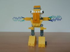 LEGO MIXELS TESLO ZAPTOR MIX instructions video with Lego 41506 and Lego 41507 Mixels Serie 1