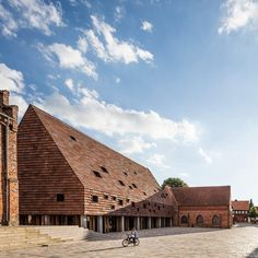 Five finalists shortlisted for Mies van der Rohe Award 2017 - Kannikegarden, Ribe, By Lundgaard & Tranberg Architects