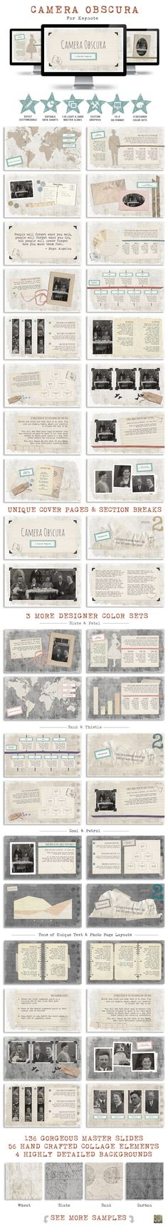 Camera Obscura Keynote Presentation Template #slides #design Download: http://graphicriver.net/item/camera-obscura-keynote-presentation-template/11445265?ref=ksioks