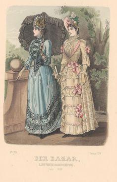 Der Bazar 1889