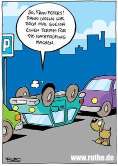 führerschein fahrprüfung einparken nachprüfung fahrlehrer