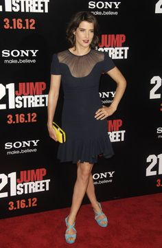 Cobie Smulders.. love this outfit, especially those shoes!
