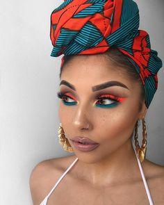 Gorgeous Makeup: Tips and Tricks With Eye Makeup and Eyeshadow – Makeup Design Ideas Cute Makeup, Makeup Art, Beauty Makeup, Glitter Makeup Looks, Exotic Makeup, Metallic Makeup, Bold Makeup Looks, Bold Eye Makeup, Makeup Goals