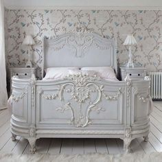 Bonaparte French Bed (Image 2) by The French Bedroom Company