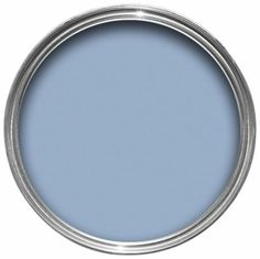 The Blue Babe emulsion is likely to cause a calming effect in your home. A tranquil colour to bring softness to rooms. #blue #calm