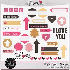 Crazy Love Sticker
