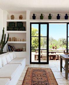 Home Interior Warm .Home Interior Warm Boho Living Room, Home And Living, Living Room Decor, Living Spaces, Modern Living, Simple Living, Bedroom Decor, Design Cour, Mediterranean Decor