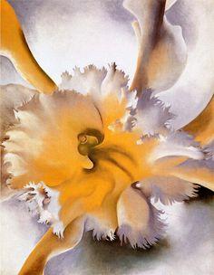 Georgia O'Keeffe | Orchid, 1941