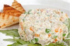 Receita de Salpicão simples em receitas de saladas, veja essa e outras receitas aqui!