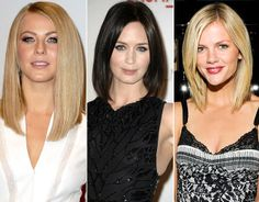 Best of Biggest Beauty Trends Julianne Hough, Emily Blunt, and Brooklyn Decker – Long Bobs Lob Hairstyle, Pretty Hairstyles, Wig Hairstyles, Natural Hair Styles, Short Hair Styles, Architecture Design, Let Your Hair Down, Celebrity Beauty, Celebrity Style