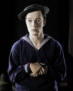 Buster Keaton in 'The Navigator' by SilverRainbow87, via Flickr
