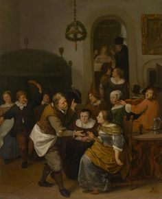 The Athenaeum - The Wedding Party (Jan Steen - )