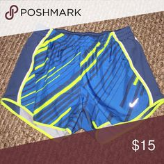 Nike Dri Fit Shorts EUC. Puppy-loving smoke-free home. Sorry-no trades. All offers will be considered but please be respectful of the brand and the condition :) 20% discount if you bundle two or more items!  🛍 Happy Shopping! 🛍 Nike Shorts