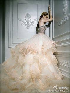 puffy dress