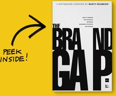The Brand Gap: How to Bridge the Distance Between Business Strategy and Design by Marty Neumeier