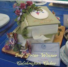 Cake Art! ~ 2nd Prize Winner Celebration Cake   ~ All Cake and All edible