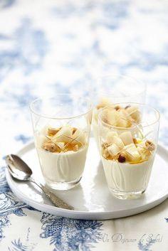 Panna cotta au yaourt