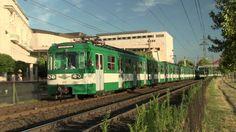 Электропоезда в Будапеште на линий H7, Будапешт, Венгрия, 07.07.2016 EMU train on Budapest suburban train line H7, Budapest, Hungary, 07.07.2016