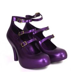 Vivienne Westwood, Melissa shoes. ...and they are Purple!!!