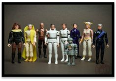 Buck Rogers action figures