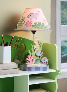 $51 Personalization Under the Sea Table Lamp | FiLii.com | Free Fast Shipping to your Home