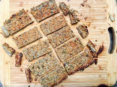 "I've been experimenting for a while for a nut free, grain free, dairy free ""muesli"" bar that will hold together for the school lunches. This is the current best attempt so far. The challenges are that what holds most bars together is the grains and loads of sugar plus they're usually full of additives and...Read More »"