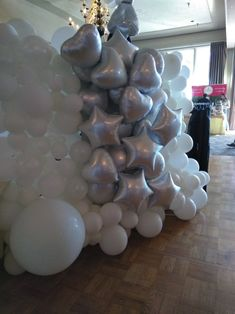 Balloon Wall, Balloons, Balloon Decorations, Exotic, Chandelier, Ceiling Lights, Elegant, Simple, Home Decor
