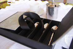 handmade gift box caixa para colheres de café, feita à mão