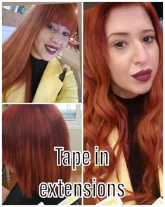 #exteforme #tapeinextensions #keratin #flat #rings #weft #russian #hair #55 #colors #eurosocap #by #seiseta #greece #top #quality #hairstyle #hairextensions #hairlove #extensionspecialis #beforeandafter #models #Indian #hairstylesforwomen #haircolor Tape In Hair Extensions, Keratin, Haircolor, Greece, Hairstyle, Indian, Models, Flat, Colors