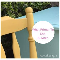 WHAT PRIMER TO USE AND WHEN ? is a detailed guide to the correct products to use when painting and restyling furniture by Shabby. Happy Paintings, Cool Paintings, Types Of Furniture, Painted Furniture, Most Asked Questions, This Or That Questions, Best Primer, White Spirit, What To Use