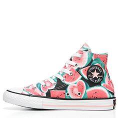 7b47f80bbbf9 Converse Kids  Chuck Taylor All Star Seasonal High Top Sneakers (Vapor  Pink Green