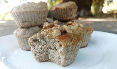 Paleo banana nut muffins cupcakes honey-free