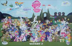 my little pony friendship is magic | My Little Pony: Friendship is Magic – Season 2 cast poster