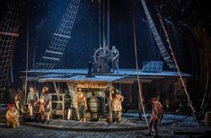 Treasure Island - Lizzie Clachan Directed by Polly Findlay - National Theatre, Olivier