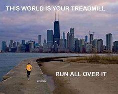 RUN ALL OVER IT!