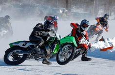 ice racing in Alberta