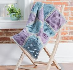 Ravelry: Fresh Finish Granny Blanket pattern by Lindsey Stephens