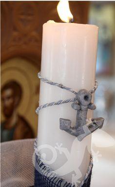 Ships Ahoy Baptism   Salamander Baby Showers, Pillar Candles, Christening, Ships, Boats, Baby Shower, Babyshower, Baby Girl Shower, Candles
