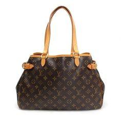 Louis Vuitton Batignolles Horizontal Monogram Shoulder bags Brown Canvas M51154