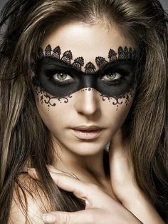 black eye makeup ideas | Halloween Eye Makeup 2014 | Eye Makeup Tutorials