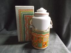 Vintage Avon Patchwork Cologne Mist Decanter ~ this was the first cologne that I ever bought on my own. I was so sad when they discontinued it. I loved that fragrance.  Oh, the seventies......