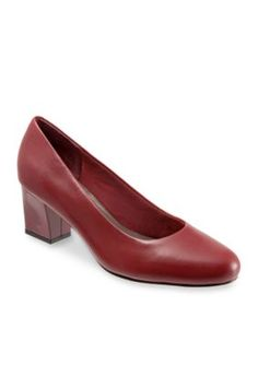 Trotters Red Candela Pump