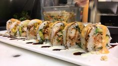 #sushi rolling through #opiumhour 👌 #treatyourself to shareable small plates and #libations #wine #beer & #sake specials offered throughout the #restaurant during #happyhour | 3-6pm everyday! #lobster #macadamia #sushiroll #sundayfunday #woknroll #foodies #wineaboutit #bonappetit #cntravelereats #sushilovers #bestlagunahappyhour #bestoflagunabeach #bestasiancuisineOC #sushibites #sushlife #freshfromthesea #ocean #fresh #luxury #paradise #vacationdestination #lagunabeach #california