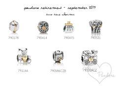 pandora retirement september 2014 two tone charms
