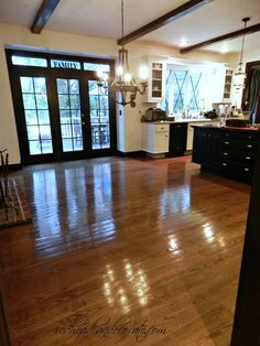 No Sanding Floor Refinishing
