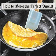 Never ruin another omelet again. #Eggs #Omelet #Breakfast