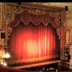 The stage at Sheffield's Lyceum Theatre.