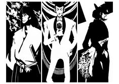 Lupin III, Ishikawa Goemon XIII, Jigen Daisuke