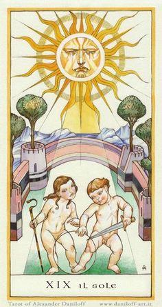 Daniloff Tarot -- the Sun