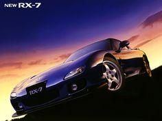 Mazda FD Blue Mica.